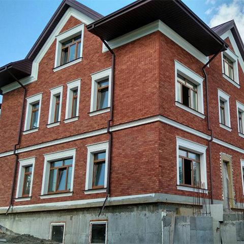 Утеплення фасаду будинку і цоколю