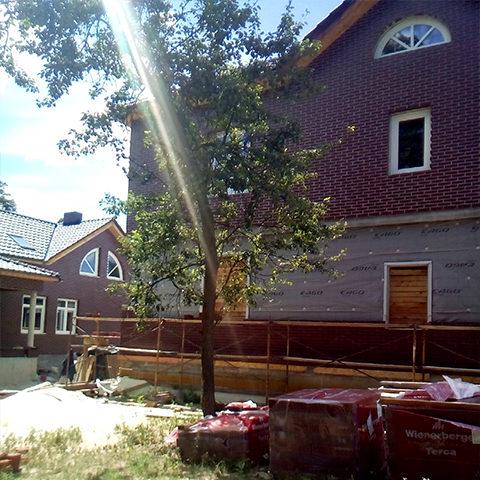 Будівництво основного житлового будинку