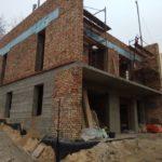 Вересень 2019 р. - Будівництво нового будинку на місці демонтованого старого